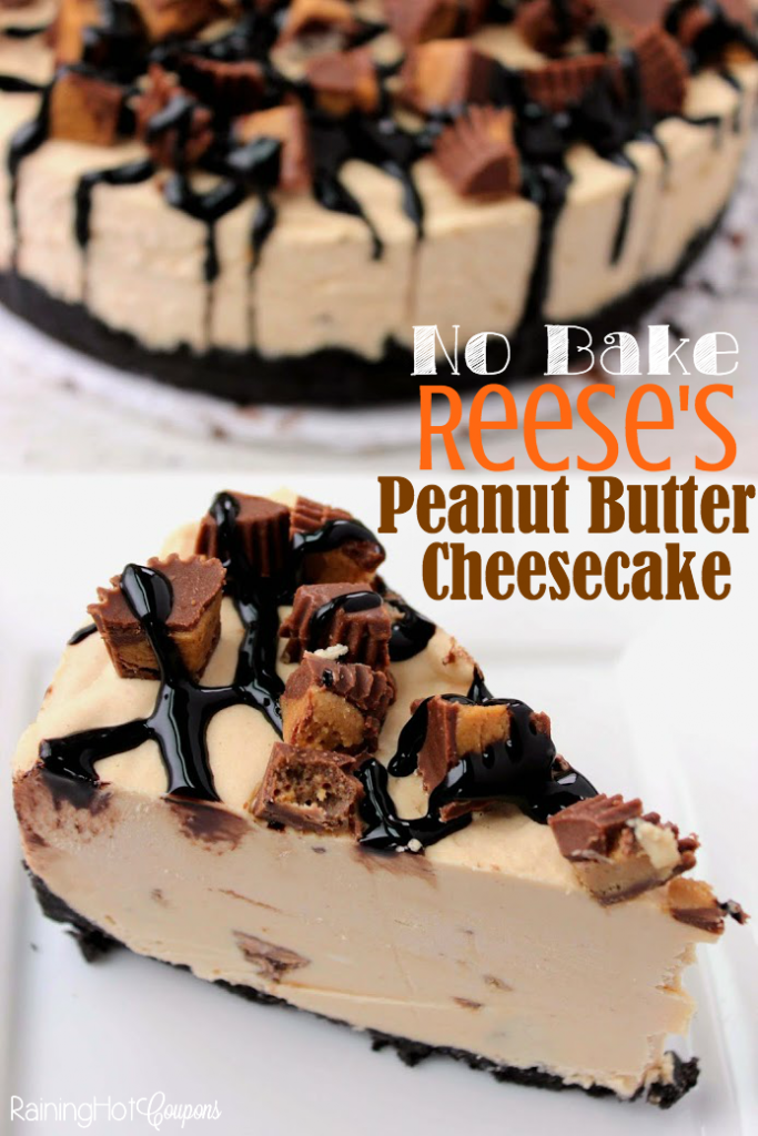 reeses peanut buter cheesecake