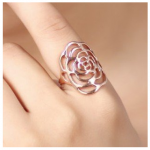 Amazon: Flower Swirl Ring Only $4.99 Shipped (Reg. $29.99)