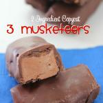 2 Ingredient Copycat 3 Musketeers