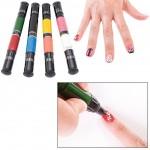 Amazon: Migi Nail Art Polish Design 8 Classic Colors – Set of 4 Pen-brushes Only $14.39 (Reg. $49.99)