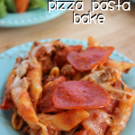 One Pot Pepperoni Pizza Pasta Bake