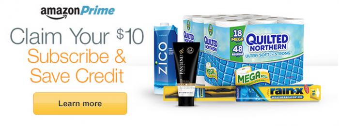 Amazon Prime: FREE $10 Credit!