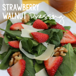 Strawberry Walnut Spinach Salad