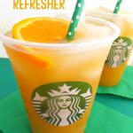 Starbucks Copycat Valencia Orange Refresher