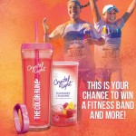 Crystal Light Color Run Instant Win Game (FREE Fitbit, FREE Product Coupons, Water Bottles and more)