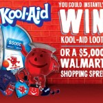 Kool-Aid Instant Win Game: INSTANTLY Win $5,000 Walmart Gift Card, Water Bottles, Speakers and more!