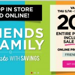Michael's Coupon: 20% off your ENTIRE Purchase!