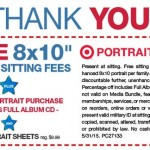 Target: FREE 8×10 Portrait and FREE Sitting Fees (Military ID)