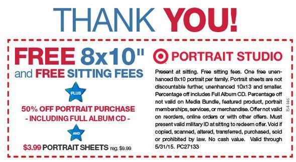 Target portrait coupons groupon
