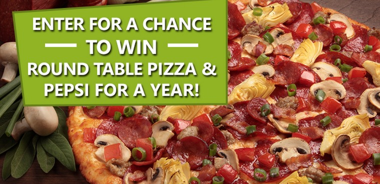 Free round table pizza coupons