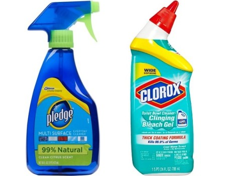 Target: Clorox & Pledge Products As Low As $0.63