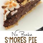 No Bake S'mores Pie