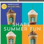 Starbucks: Buy 1 Get 1 FREE Frappuccino (Members)