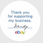 48 FREE Ebay Seller Stickers + FREE Shipping!