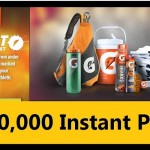 1 Million INSTANTLY Win Gatorade FREE Products, Towels, Coolers, Bags, Bottles and more!