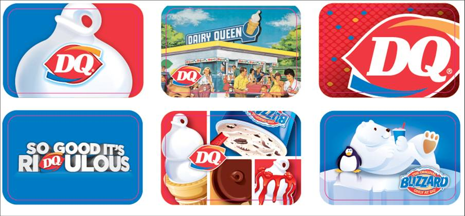 Enter to Win 1 of 30,0000 Dairy Queen Gift Cards (VALUED from $5 ...