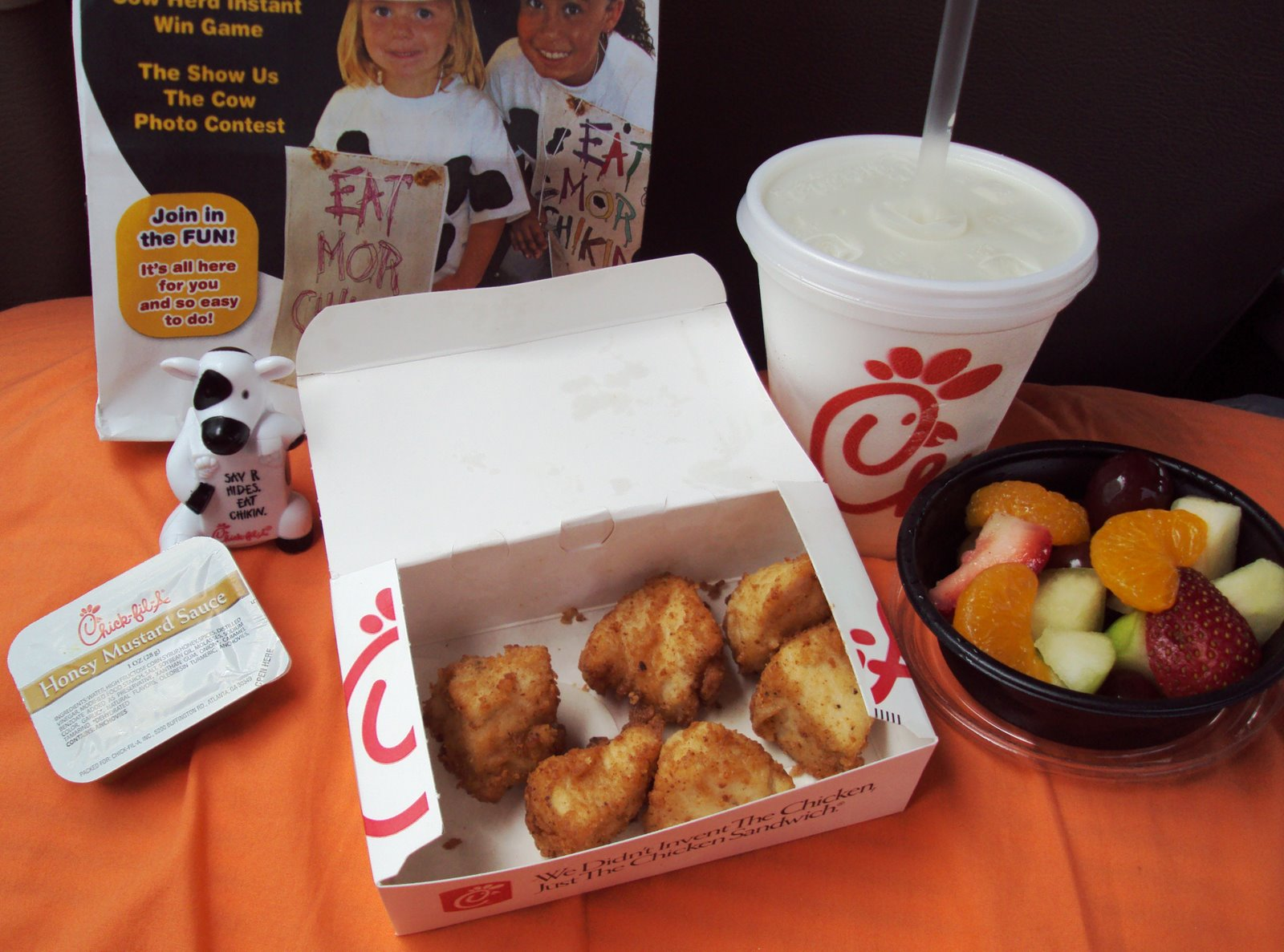 picture about Chickfila Printable Coupon referred to as Chick-Fil-A: 4 Totally free Small children Supper Coupon codes!?