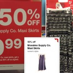 Target: Mossimo Supply Co. Maxi Skirts Only $7.49