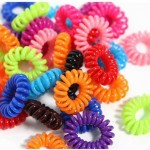 FREE Package of Telephone Cord Elastic Ponytail Holders + FREE Shipping!
