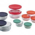 Amazon *HOT* Pyrex 18pc Glass Food Storage with Multi-colored Lids Only $22.99 (Reg. $54.99)!