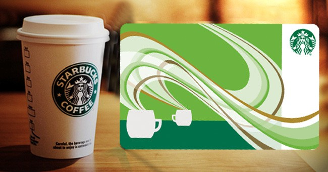 FREE $5 Starbucks Gift Card!