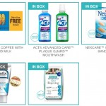 *HOT* FREE Box Full Of Deluxe Samples! (Gevalia Iced Coffee, Act mouthwash, Nexcare Bandages, Diapers)