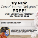 Dollar General: FREE Cesar Home Delights wyb Dry Dog Food Purchase