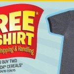 FREE Cap'n Crunch T-Shirt with Purchase!