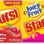 Juicy Fruit w/Starburst Gum ONLY $0.32 (Reg. $1.29)!