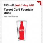 *HOT* 75% off Target Cafe Fountain Drinks!
