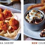 Applebee's: FREE Churro S'mores and Sriracha Shrimp Appetizer!