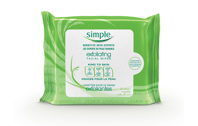 Simple-Exfoliating-Facial-Wipes