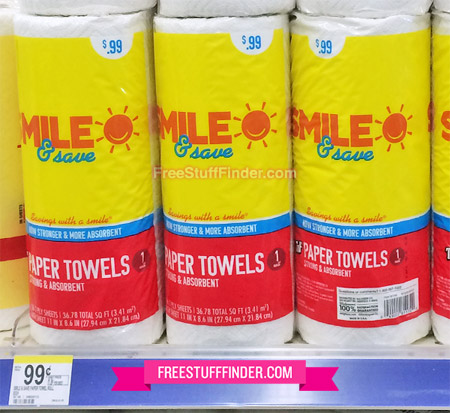 Walgreens Smile Amp Save Paper Towels Only 0 50 No Coupon