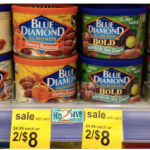 Blue Diamond Almonds ONLY $1 Per Can!