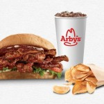 Arby's: FREE Garlic Parmesan Chips & Drink with Purchase