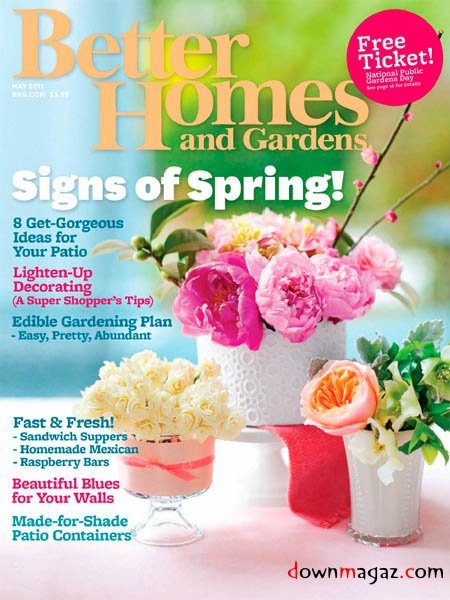 Free 1 Year Subscription To Better Homes Gardens Magazine