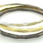 *HOT* 3 Rhodium Plated Silver Stackable Bracelets ONLY $8.49 (Reg. $44.00)!