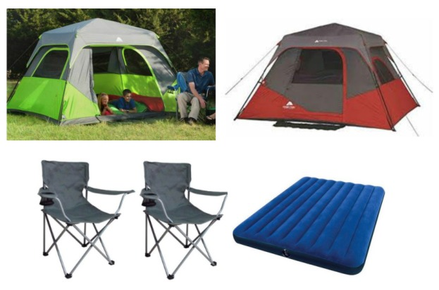 If you love to c& or be outdoors you will love this next deal! Right now on Walmart.com you can get this Ozark Trail 6-Person Instant Cabin Tent with 2 ...  sc 1 st  Raining Hot Coupons & Ozark Trail 6-Person Instant Cabin Tent with 2 Folding Chairs and ...