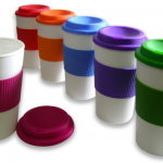 BPA-Free Double-Wall Travel To-go Mugs with Comfort Grip ONLY $1.67!
