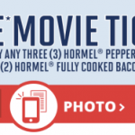 FREE Movie Ticket WYB Hormel Pepperoni & Bacon Products ($13 Value) & More