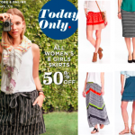 Old Navy: 50% off Women's & Girls' Skirts & Dresses (Today Only)