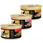 FREE 3-pack of Sheba Wet Cat Food Sample Pack