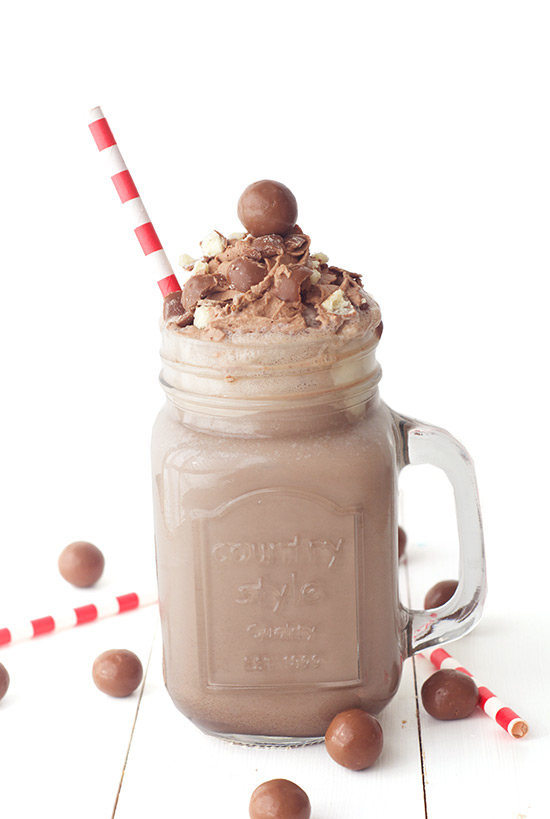 Chocolate Milkshake Recipe Malt
