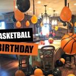 *NEW VLOG* Talan's Basketball Birthday Party Decor