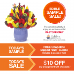 Edible Arrangements: FREE Chocolate Dipped Fruit Bundle! (No Purchase Required!)
