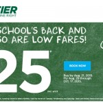 Frontier Airlines: ONLY $25! (Round Trip to Disney World ONLY $50!)