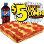Little Caesars: FREE $5 Lunch Combo