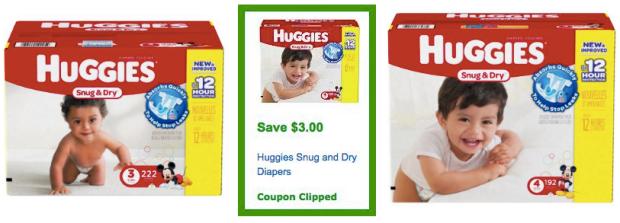 Huggies coupon code for amazon