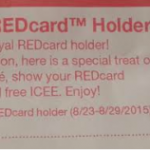 Target Cafe: Possible FREE Small Icee for Target REDCardholders