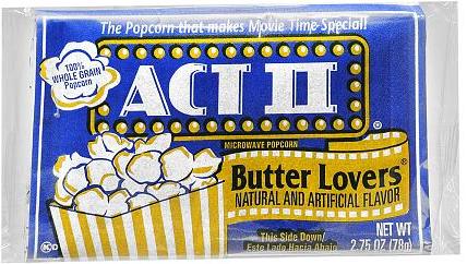 Act ii popcorn coupons 2018